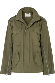 3.1 Phillip Lim Hooded cotton-canvas jacket