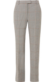 3.1 Phillip Lim Checked wool-blend straight-leg pants