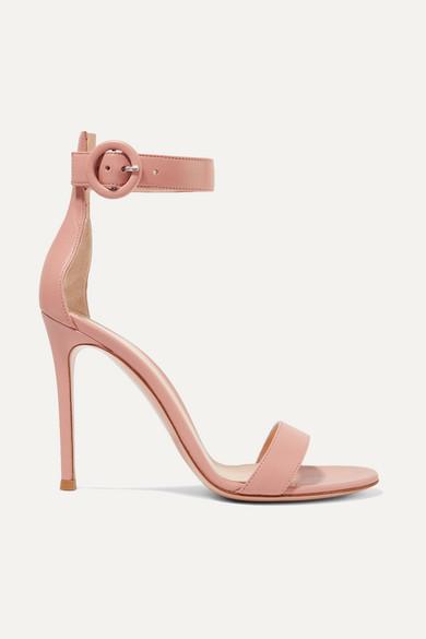 Portofino 105 Leather Sandals by Gianvito Rossi