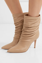Cecile 85 leather ankle boots
