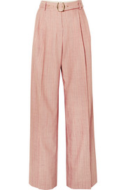Sies Marjan Blanche striped wool-blend pants