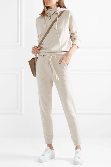 Cotton Jersey Track Pants by Vince