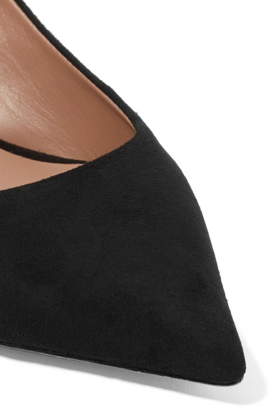 Tabitha Simmons   Rise Schleife Slingback-Pumps aus Veloursleder mit Schleife Rise 32d3e9