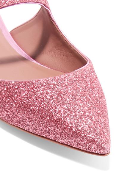 Tabitha aus Simmons | Kittie Slippers aus Tabitha Leder mit Glitter-Finish und Kristallverzierungen 64f93c