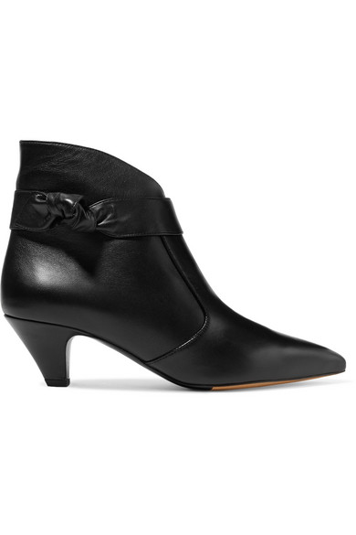 Tabitha Simmons aus   Mixie Ankle Boots aus Simmons Leder mit Knotendetail a1169b