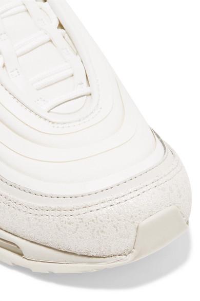 Nike Air Max 97 Ultra Sneakers aus Nubuklederimitat, Leder und Mesh