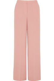 Harmon crepe wide-leg pants