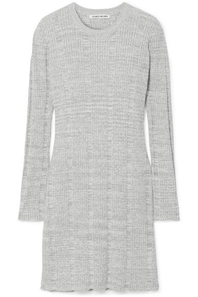 Kellen Ribbed Cotton-Blend Tunic, Multi