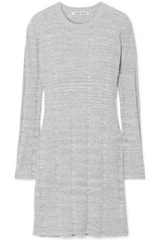 Elizabeth and James Kellen ribbed cotton-blend tunic