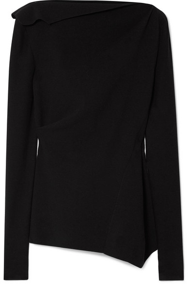 NARCISO RODRIGUEZ Asymmetric stretch-knit top
