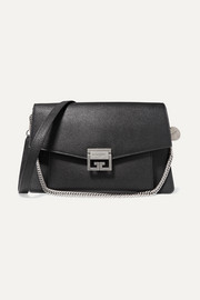 Givenchy GV3 medium textured-leather shoulder bag
