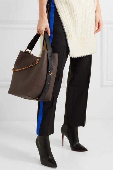 2aaff53fdee4 GV Bucket textured-leather shoulder bag