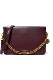 Givenchy Cross3 textured-leather and suede shoulder bag