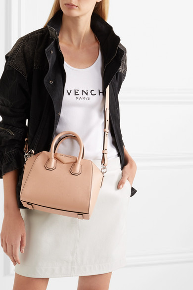 db7ad19b62 Givenchy | Antigona mini textured-leather tote | NET-A-PORTER.COM