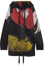 Marc Jacobs Mickey printed cotton-blend hoodie