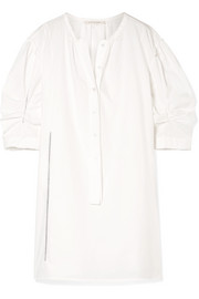 Marc Jacobs Cotton-poplin mini dress