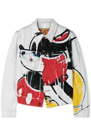 Marc Jacobs Mickey printed denim jacket