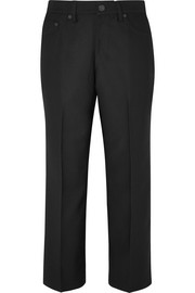 Marc Jacobs Cropped twill straight-leg pants