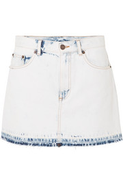 Marc Jacobs Frayed denim mini skirt