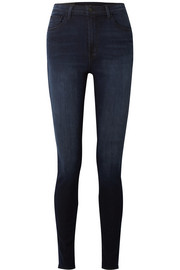 "Carolina 32"" high-rise skinny jeans"