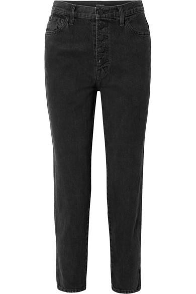 1c067cc4 J Brand   Heather cropped high-rise straight-leg jeans   NET-A ...