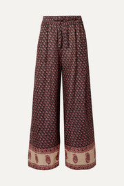 Zimmermann Jaya printed linen pants
