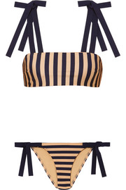 Zimmermann Jaya striped bikini