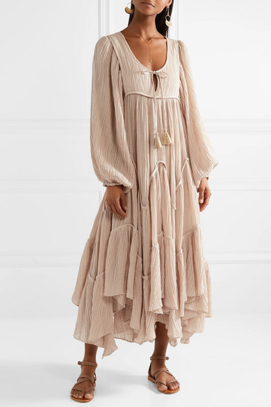 Outlet Online Bayou cotton-blend midi dress Zimmermann Discount Browse Discount Brand New Unisex o7TcFJ7GsO