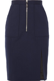 Pollard wool-blend pencil skirt