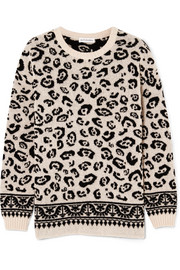 Casablanca merino wool-blend jacquard sweater