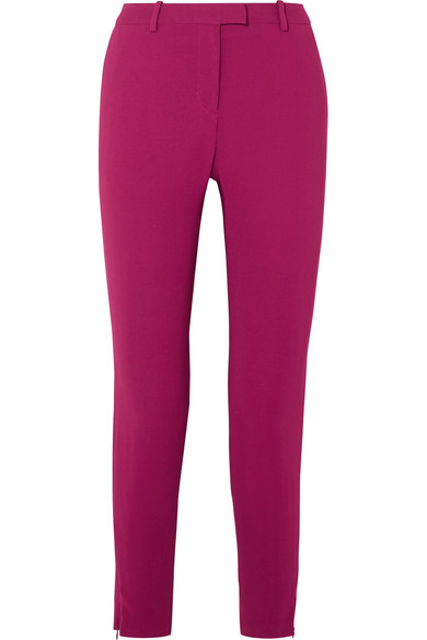 Henri Cady Skinny Pants in Plum
