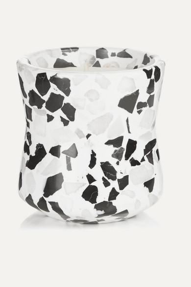 TOM DIXON Terrazzo Medium Scented Candle in White