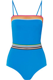 Sunrise Monica mesh-trimmed swimsuit