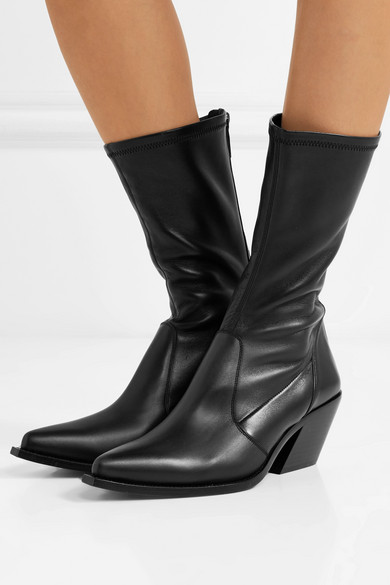 Givenchy   Sock Boots Boots Sock aus Leder f4359f