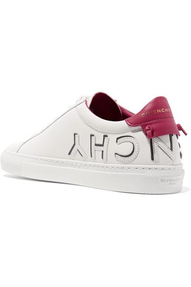 Givenchy | mit Urban Sneakers aus Leder mit | Logoapplikation 811fd1