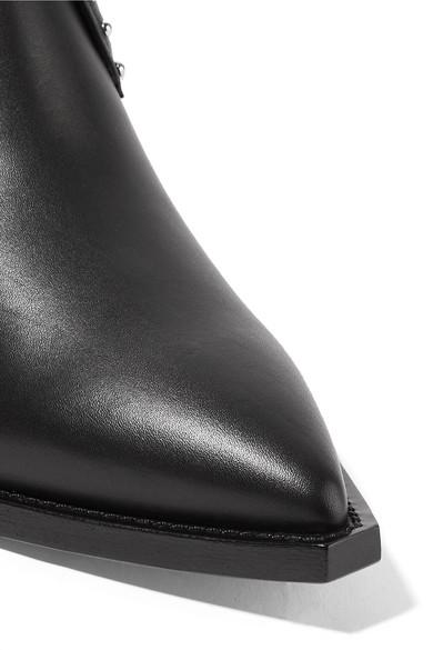 Givenchy | Ankle Elegant nietenverzierte Ankle | Boots aus Leder a60348