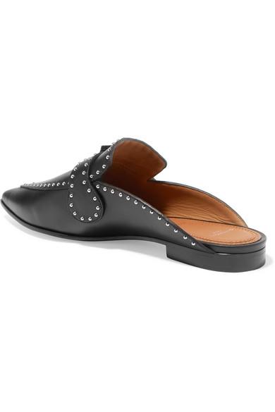 Givenchy Slippers | Slippers Givenchy aus Leder mit Nieten ba4ef9