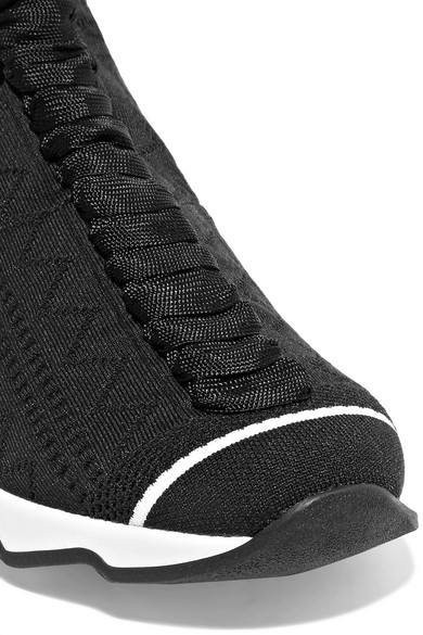 Fendi | Sneakers aus Stretch-Strick Stretch-Strick Stretch-Strick 7c3c52