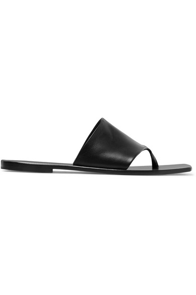 31324dcd26a1 The Row. Flip Flop leather sandals
