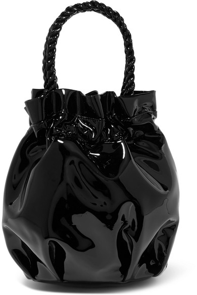 Grace Patent Leather Tote by Staud