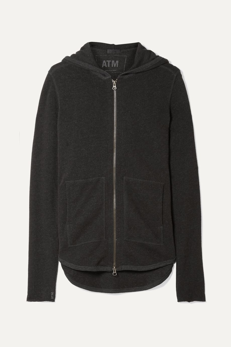 ATM Anthony Thomas Melillo French cotton-blend terry hoodie