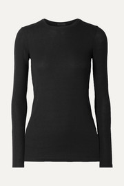 ATM Anthony Thomas Melillo Ribbed stretch-Micro Modal top