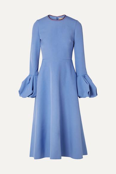 Roksanda - Aylin Crepe Midi Dress - Blue