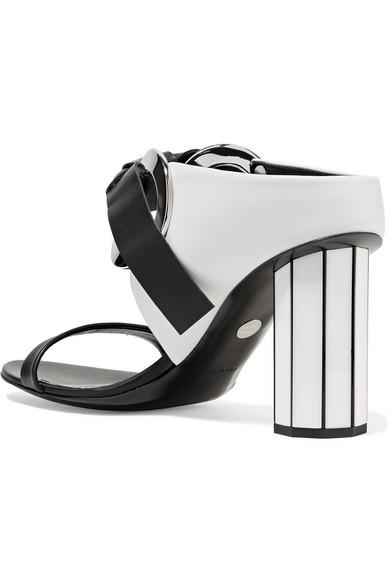 Proenza Schouler Mules Eyelet-embellished leather mules