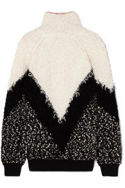 Givenchy Oversized mohair-blend bouclé turtleneck sweater