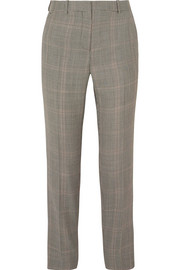 Givenchy Houndstooth wool-blend straight-leg pants