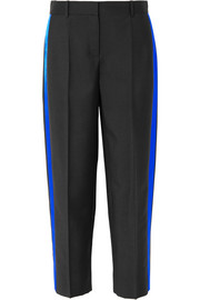 Givenchy Striped mohair and wool-blend straight-leg pants