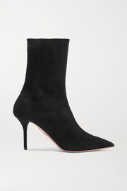 Saint Honore suede sock boots