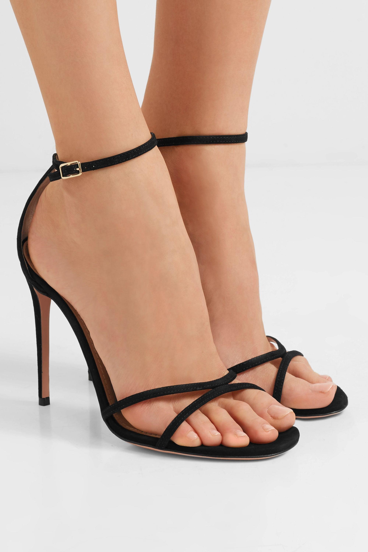 Aquazzura Purist suede sandals