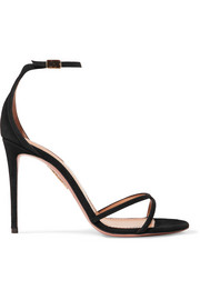 Aquazzura Purist suede sandals